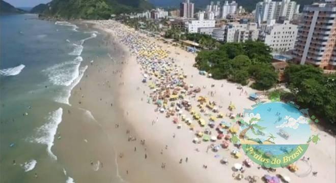 Coronavírus: Dois são detidos após cerco em praias do Guarujá (SP)